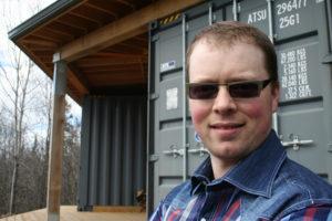 Jason Rioux Shipping Container Cabin Octopod