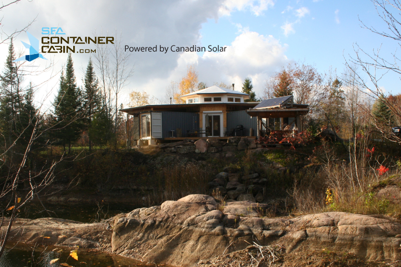 Tiny Home Designs: Project OCTOPOD Shipping Container Cabin