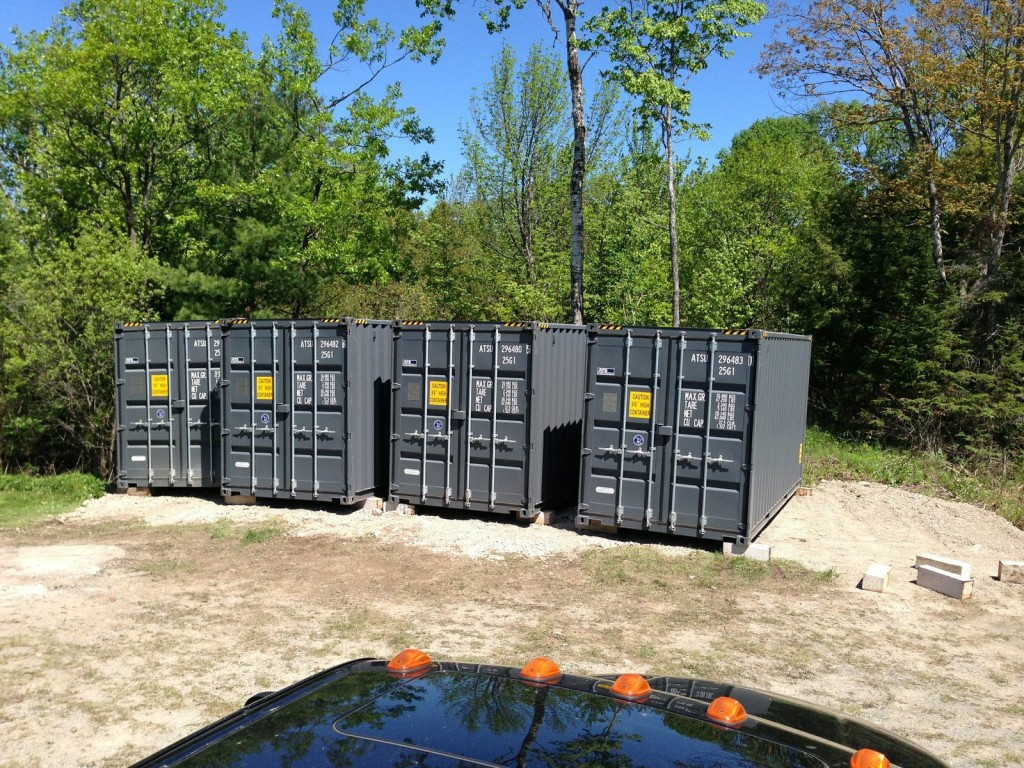 container deliveries first four