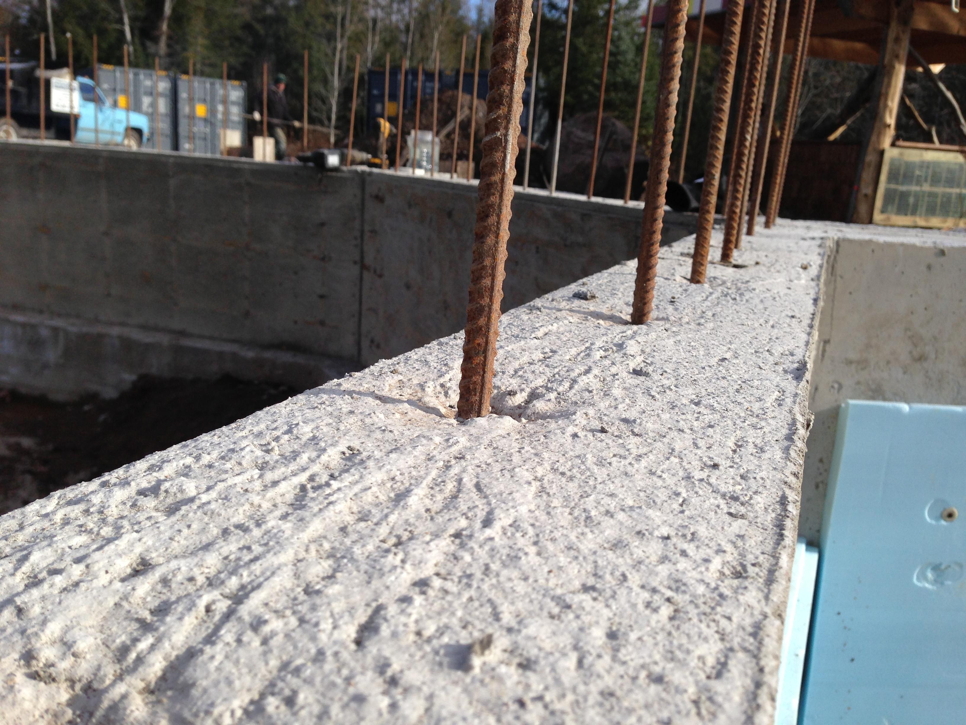 sea container cabin foundations 6 octagon floor ties