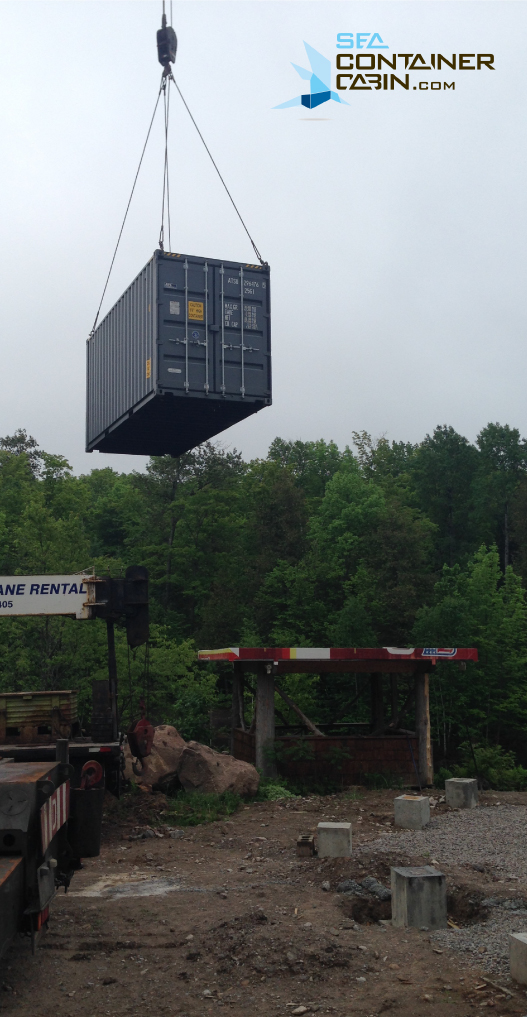 craning-shipping-container-cabin-workbench
