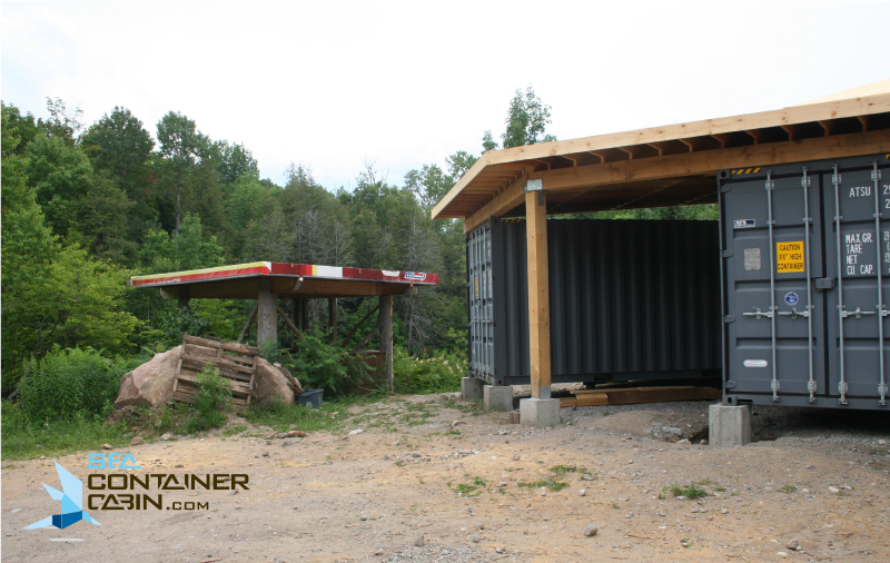 Shipping-Container-Cabin-Tiki-Hut-Workbench