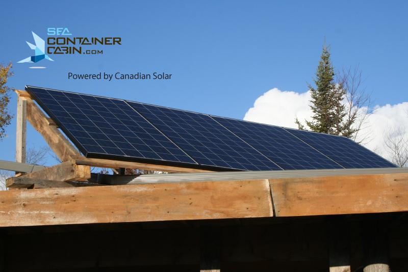 Sea-Container-Cabin-Solar-Panel