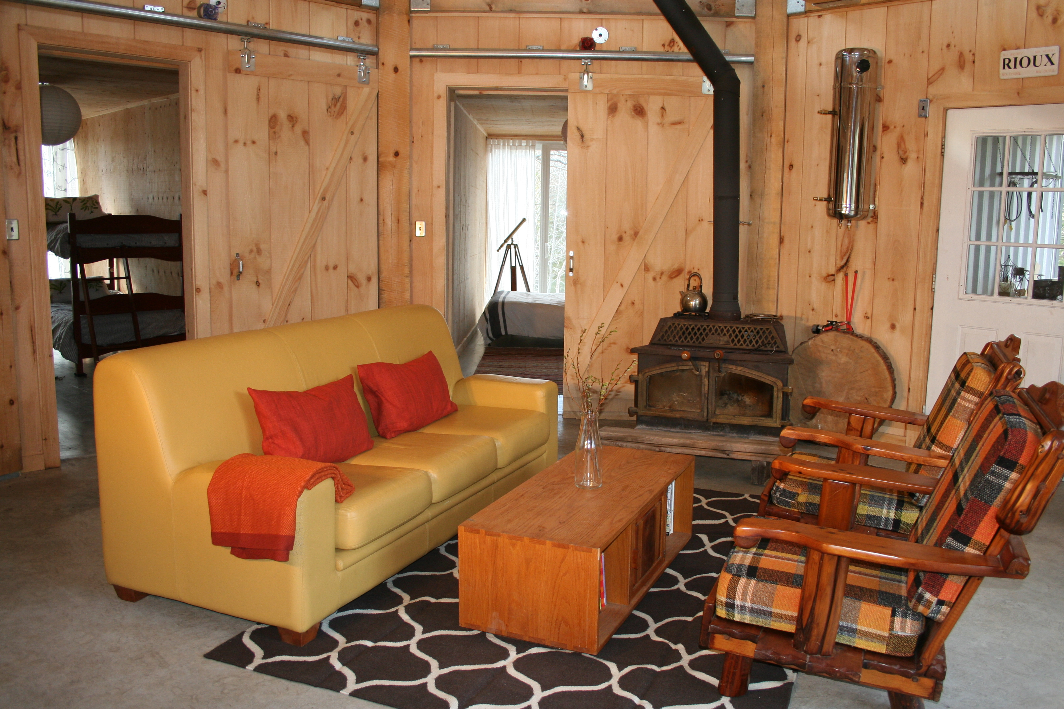 Shipping Container House Interior. Sea Container Cabin Interior Rebecca Purdy Cottage Life features our Cozy Shipping