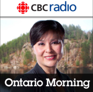 CBC Radio Ontario Morning Wei Chen Jason Rioux Octopod Shipping Container Cabin